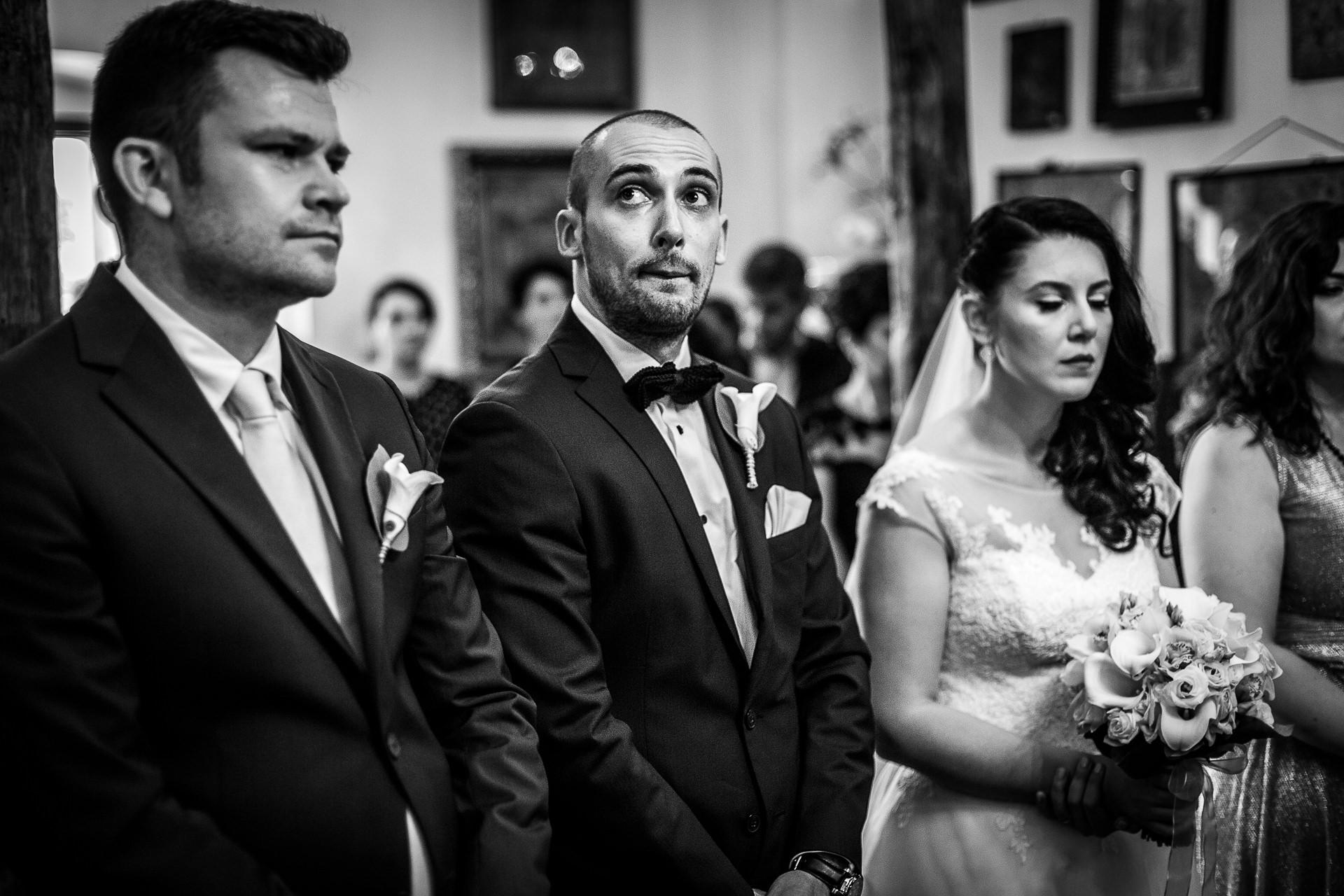 Fotografie de nunta ceremonie religioasa Biserica Bucur Ciobanul Bucuresti | Alina si Razvan | 04