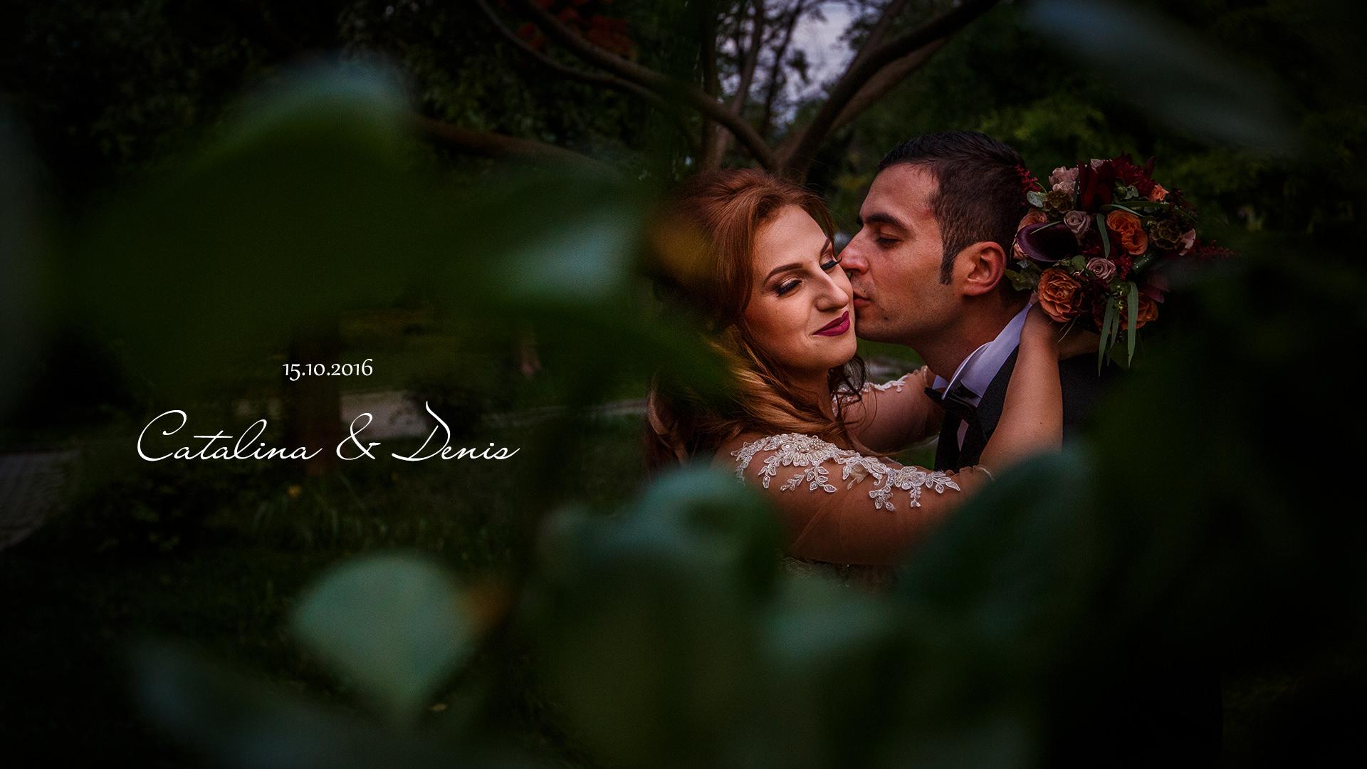 Slideshow De Nuntă – Cătălina şi Denis (nuntă Tulcea)