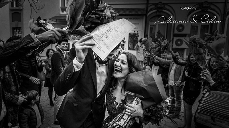 Slideshow De Nuntă – Adriana şi Călin (cununie Civilă Bucureşti)