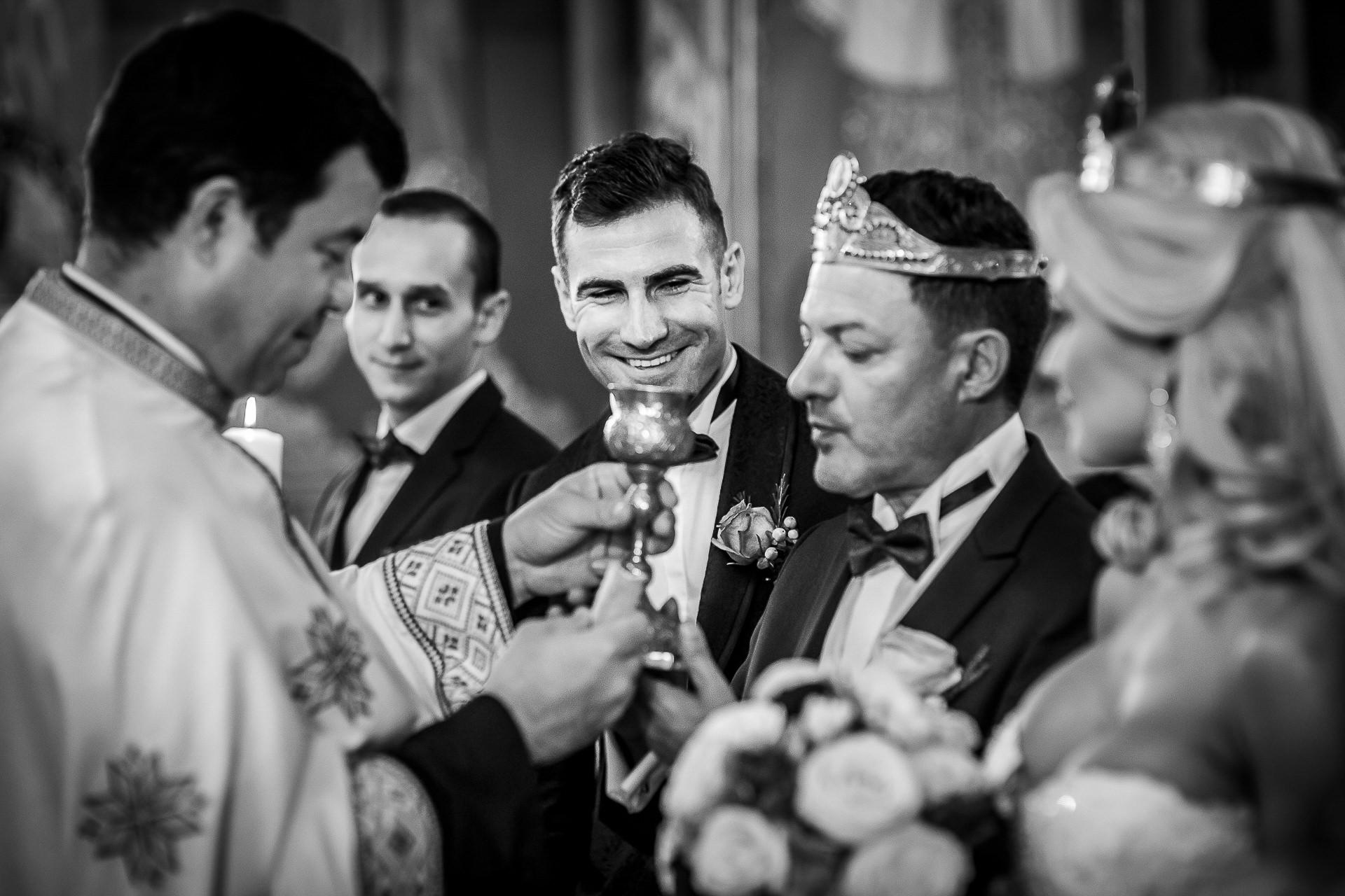 Fotograf nuntă Bucureşti - Biserica Militara Sfântul Mina + Metropolitan Club and Events - Marinela şi Pasquale - Mihai Zaharia Photography - 32