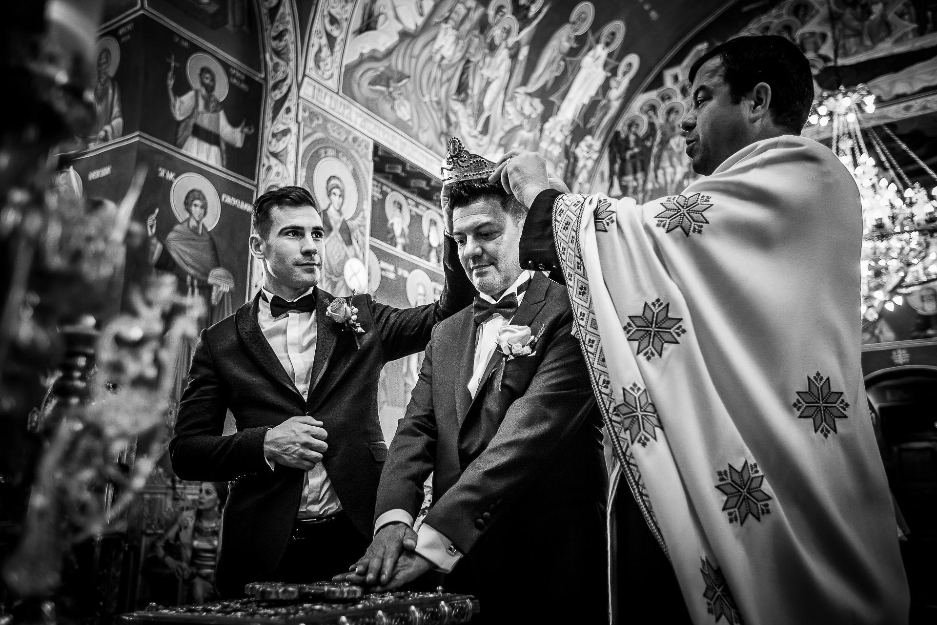 Fotograf nuntă Bucureşti - Biserica Militara Sfântul Mina + Metropolitan Club and Events - Marinela şi Pasquale - Mihai Zaharia Photography - 34