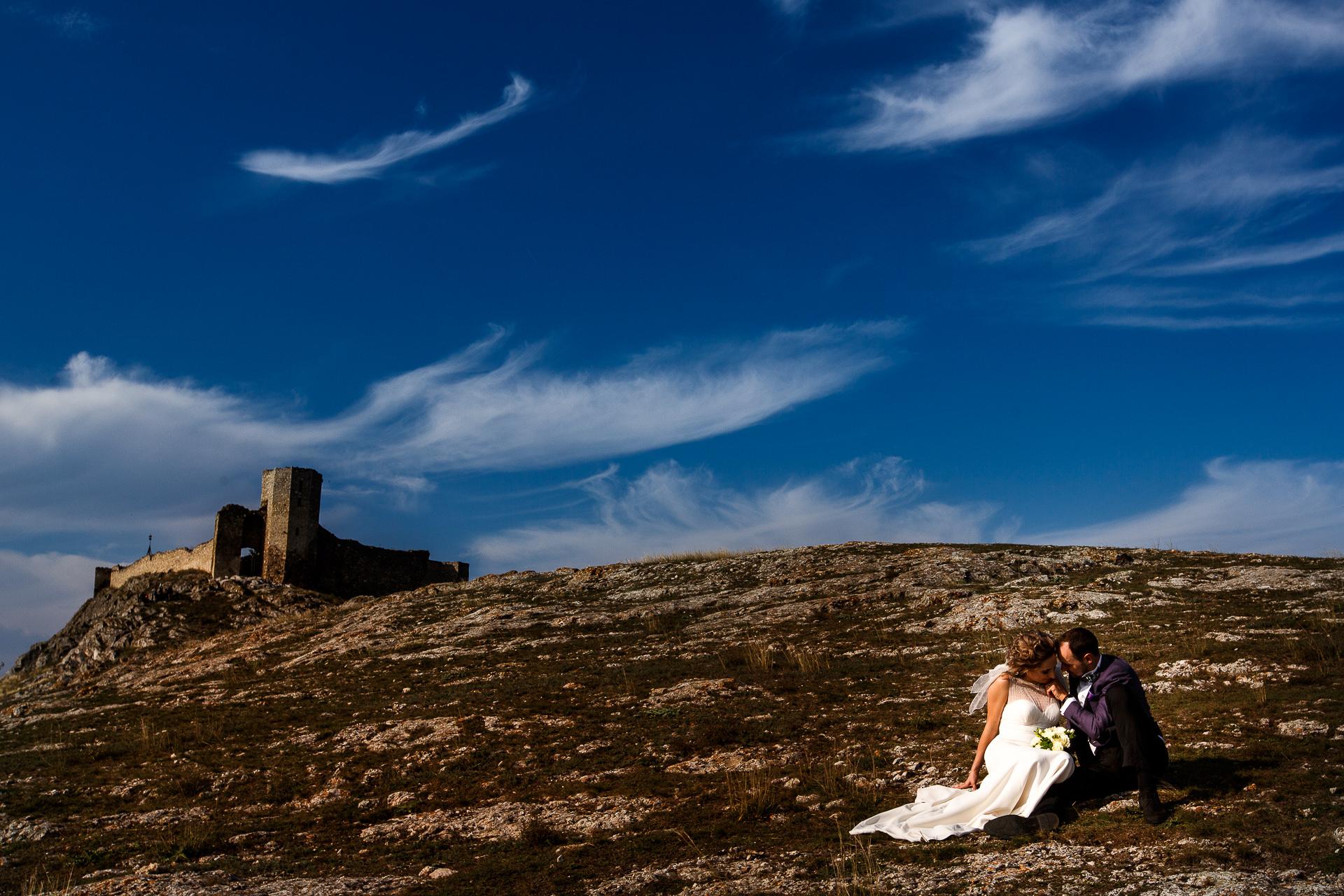 Şedinţă foto Trash The Dress - după nuntă la Cetatea Enisala, Tulcea - România - cu Mihaela şi Octavian - Mihai Zaharia Photography - 02