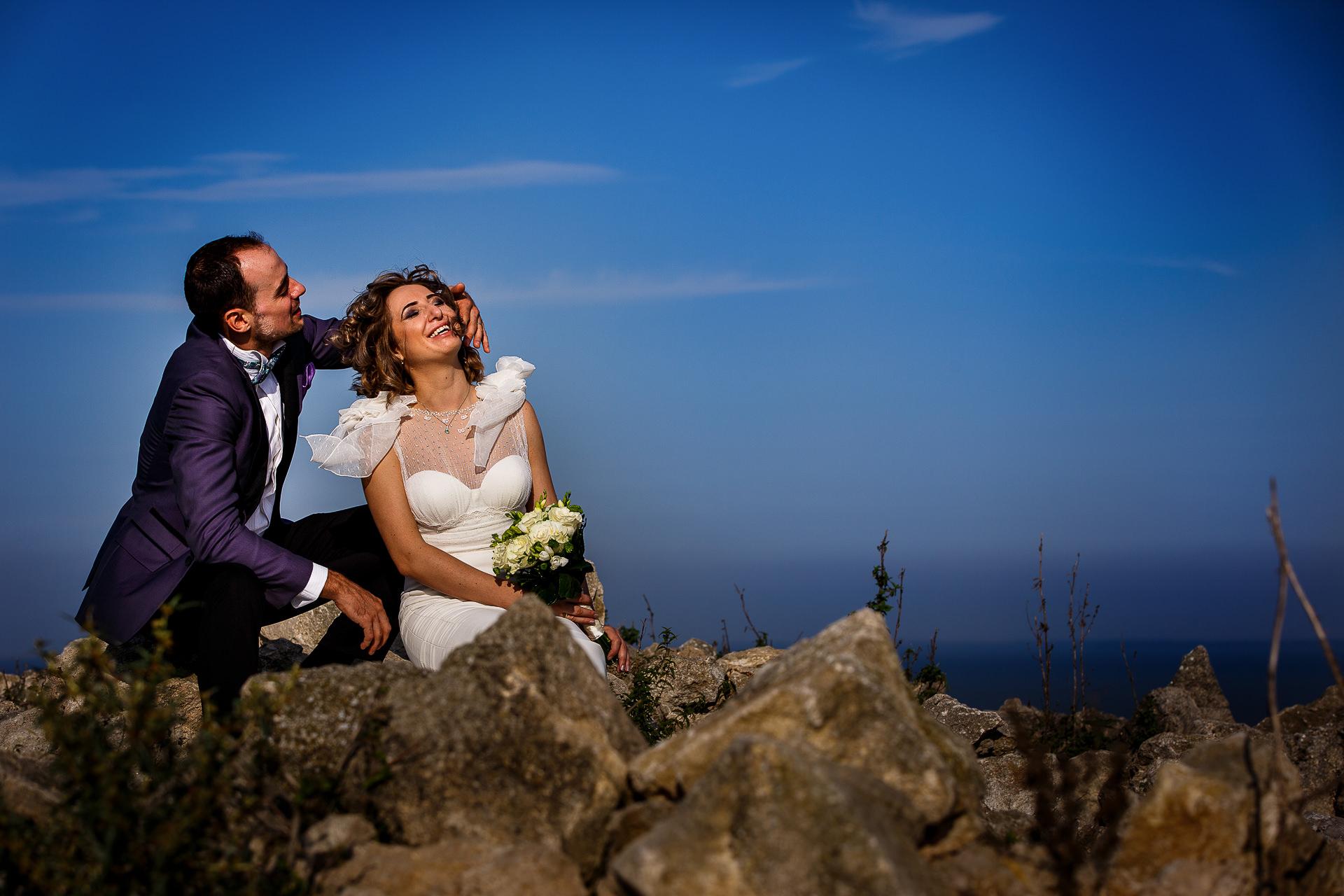 Şedinţă foto Trash The Dress - după nuntă la Cetatea Enisala, Tulcea - România - cu Mihaela şi Octavian - Mihai Zaharia Photography - 05