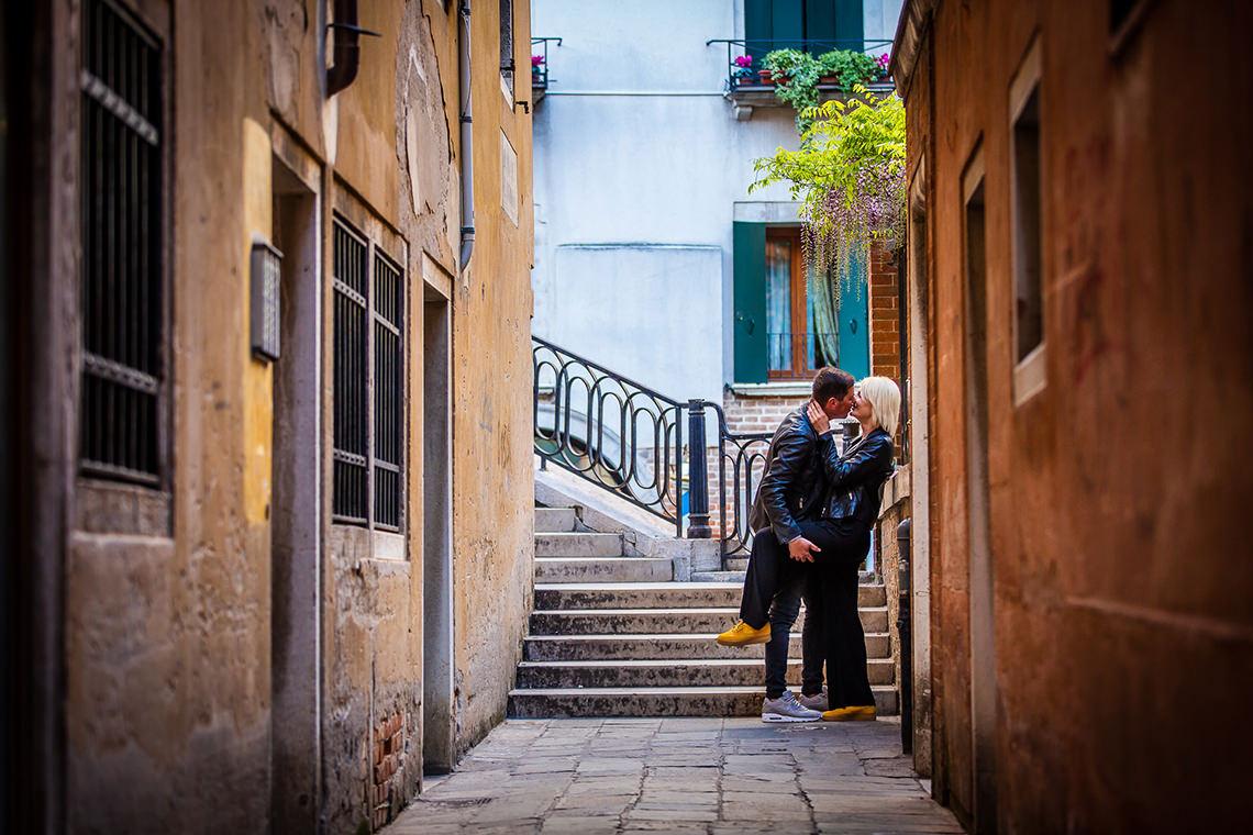 Sedinta foto de cuplu in Venetia - Alina si Mihai 5