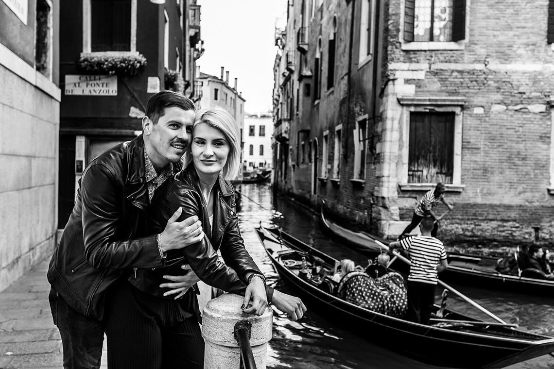 Sedinta foto de cuplu in Venetia - Alina si Mihai 7