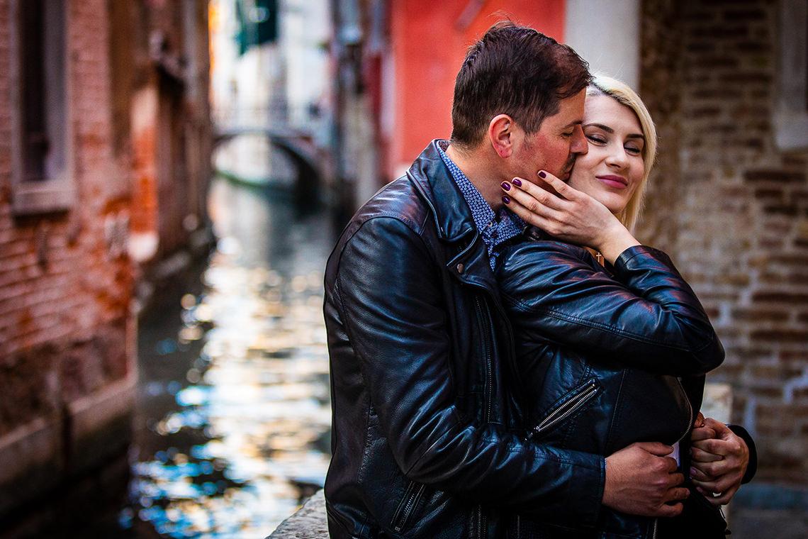 Sedinta foto de cuplu in Venetia - Alina si Mihai 8