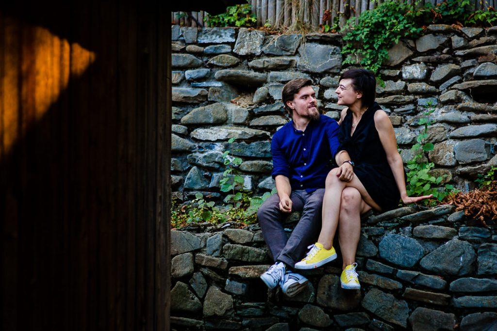 Sedinta foto de cuplu Muzeul Satului Bucuresti - Irina si Florin
