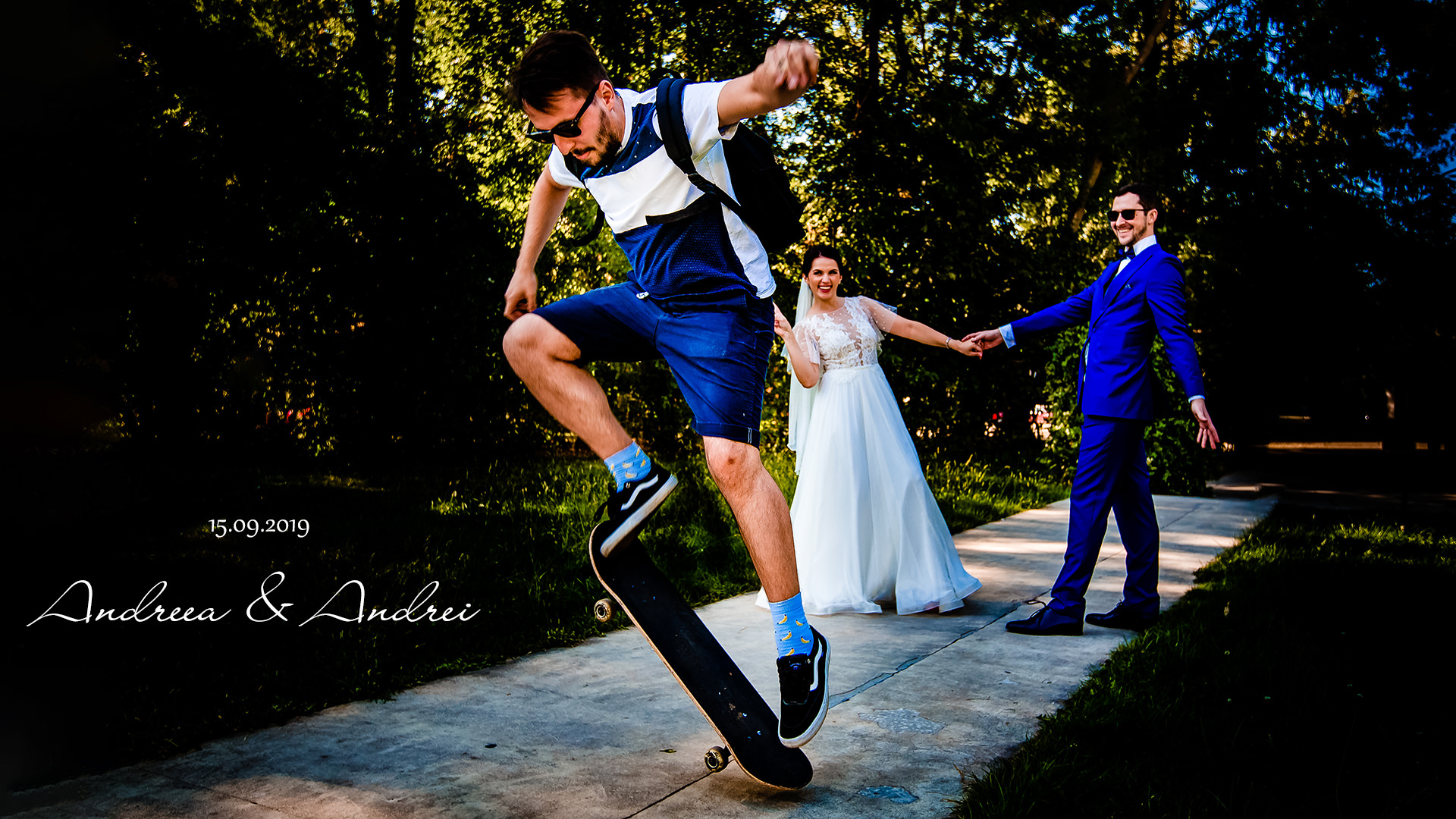 Slideshow De Nunta - Andreea Si Andrei, Gradina Floreasca | Mihai Zaharia Photography