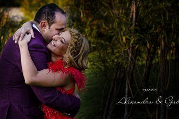 Slideshow De Nuntă - Alexandra și Gabi - 18 Lounge, București